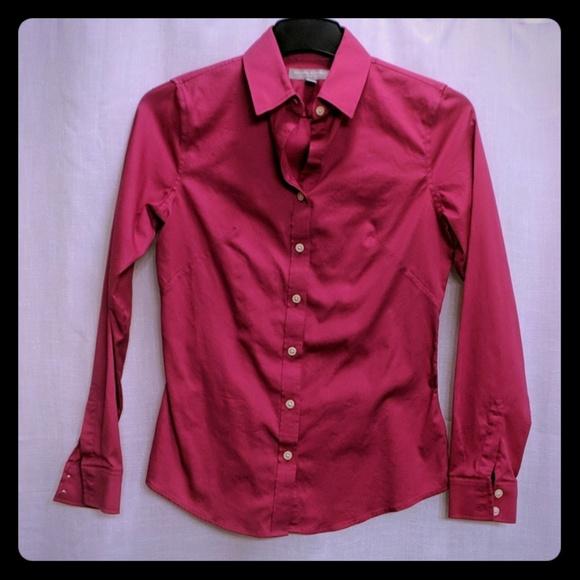 d03871f9 Banana Republic Tops | Noniron Fitted Buttondown Shirt | Poshmark